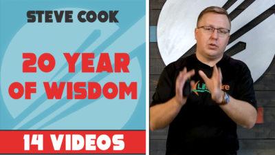 Steve Cook - 20 Years of Wisdom